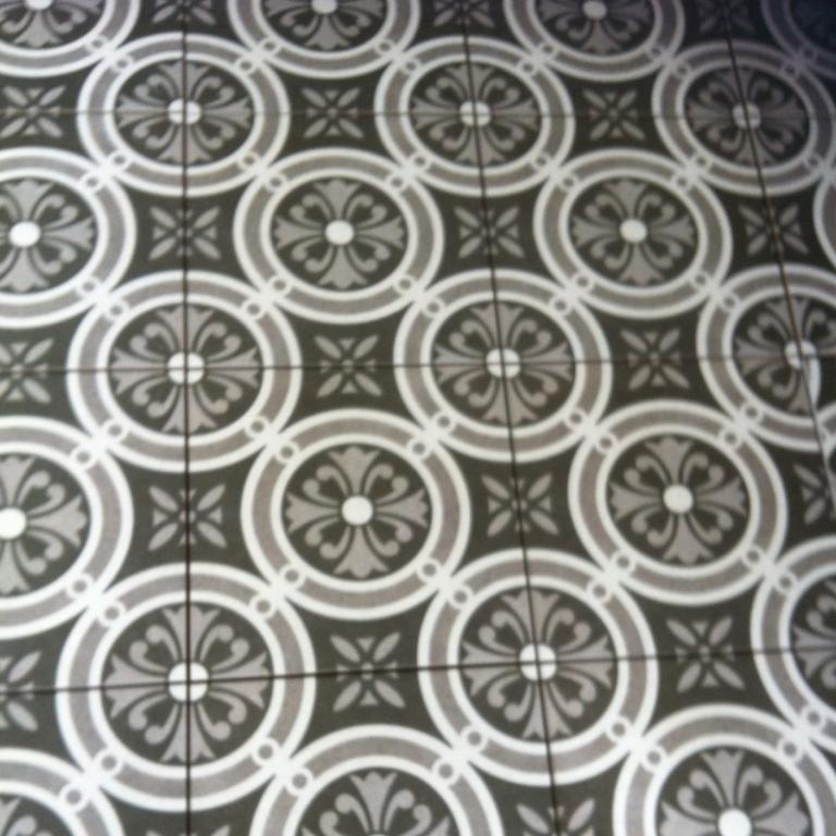 Keramische Vintage retro tegels Vintage Classic 25 x 25 cm