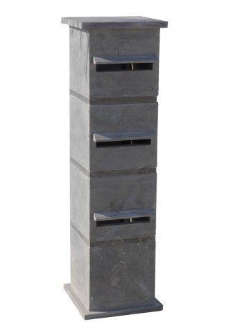 Arduinen strakke driedubbele brievenbus - Model 37