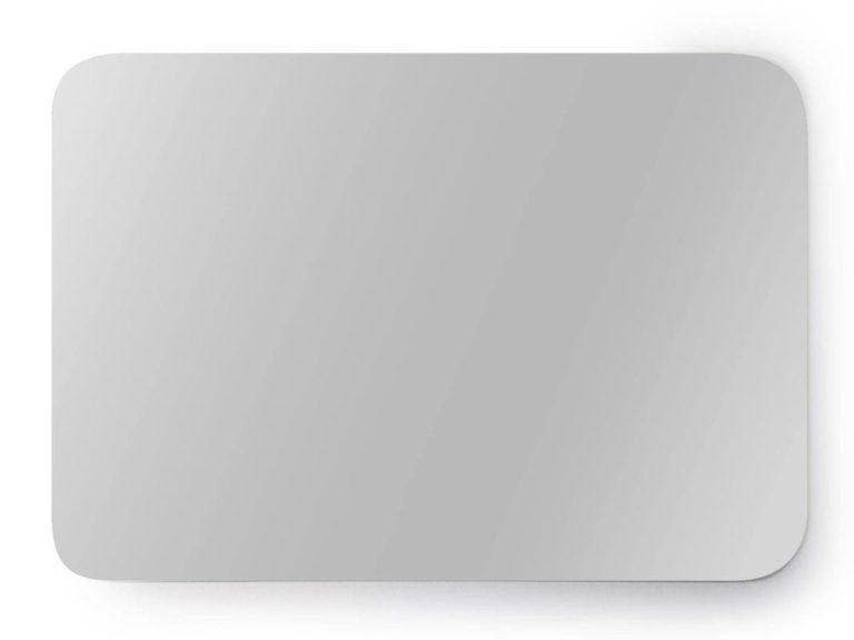 Inox plaat 10 x 15