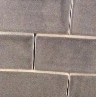 Keramische wandtegel Bronx Grijs 7,5 x 30 cm